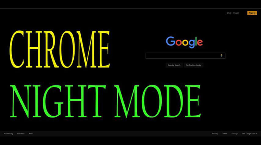 Google Chrome Best and Easiest Night Mode addon