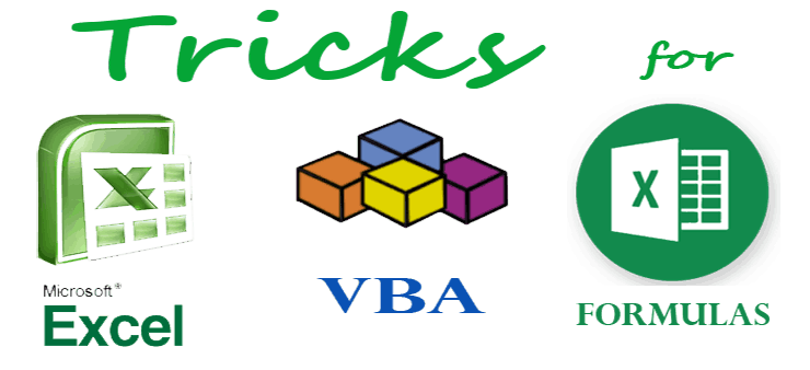 Excel Learning Tricks & VBA & Formulas with Examples