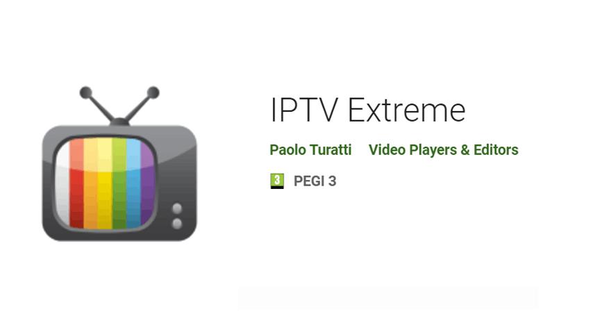 IPTV Extreme – Android IPTV