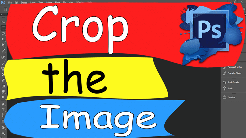 15 Photoshop – Easily Crop image