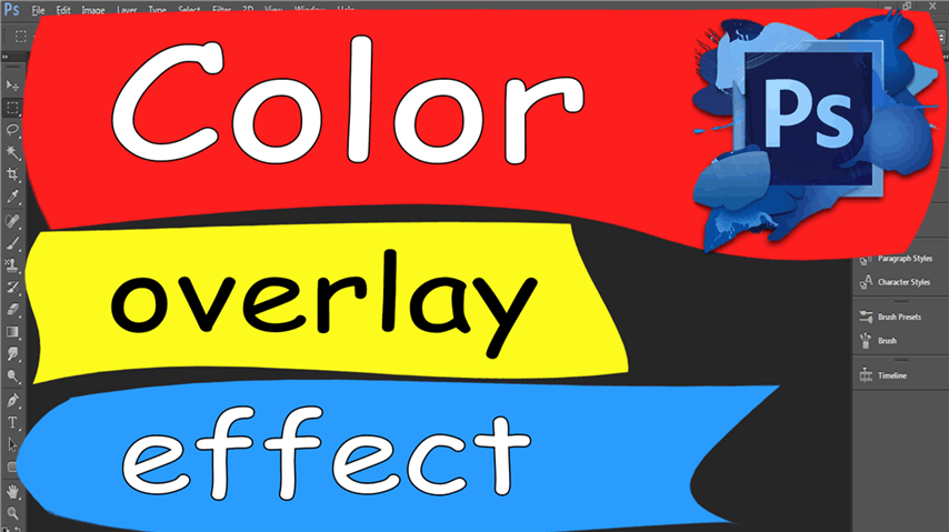 27 Photoshop – Easily Color Overlay Effect