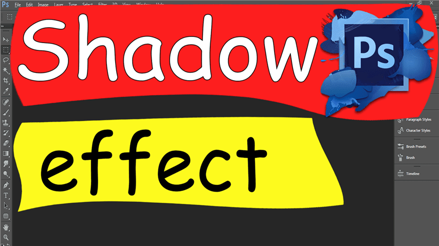 07 Photoshop – Easily Shadow effect