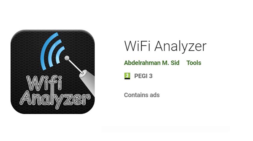 WiFi Analyzer – Android Application