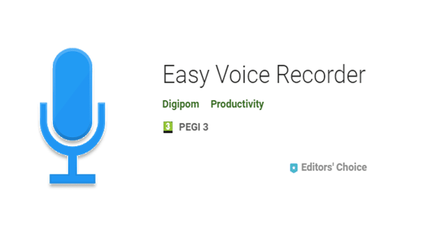 Easy Voice Recorder – Really Easy