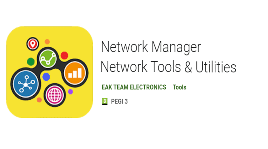 Network Manager – Network Tools & Utilities