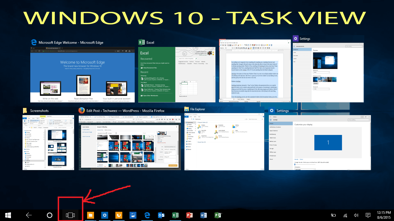 How to Disable the Task View on Windows 10