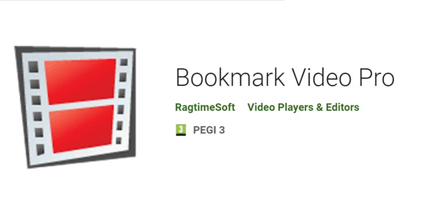 Bookmark Video – Create movie shortcut