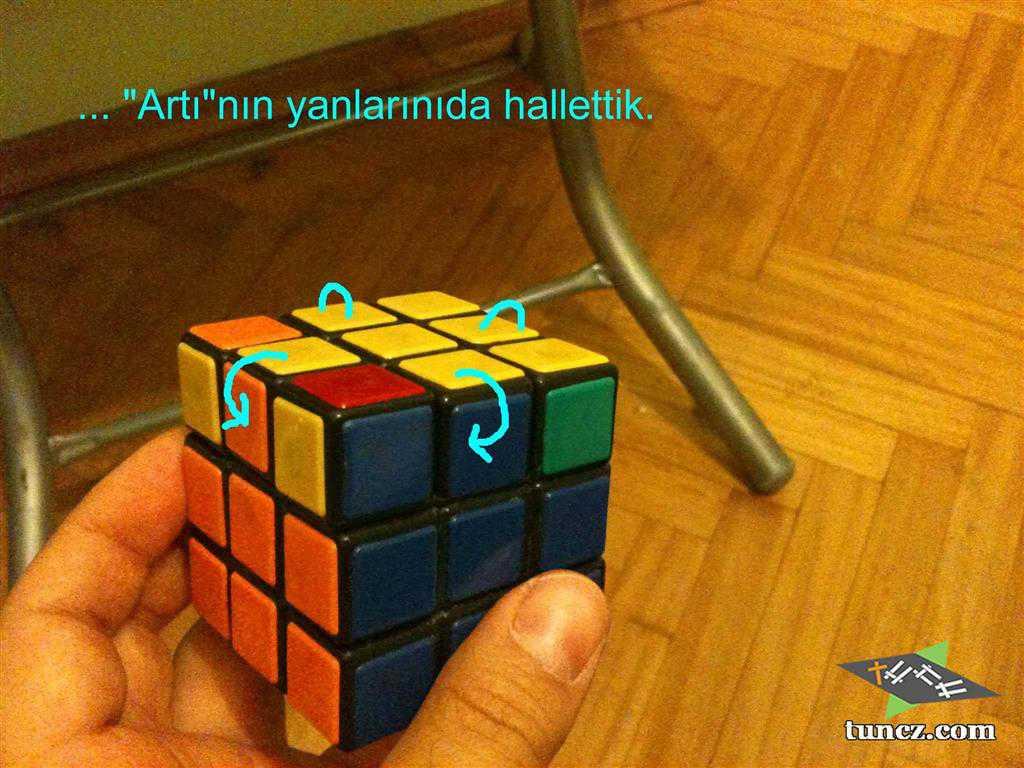 Rubik Küp Çözümü En Pratik Yol: Tunc Tekniği